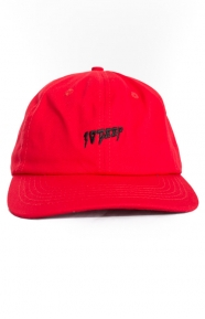 10 Deep Clothing, Sound & Fury Dad Hat - Red