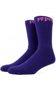 Sound & Fury Socks - Purple