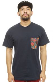 SP14 Tribes Pocket T-Shirt - Navy