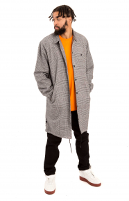 Streeters Flannel Trench