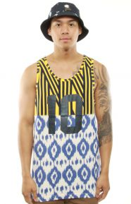 SU14 Chaos Tank Top - Yellow