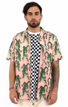 Top Of The Chain Button-Up Shirt - Pink