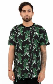 Top Of The Chain Print T-Shirt - Black