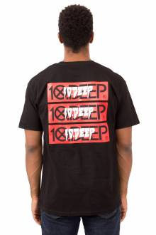 Triple Stack III T-Shirt - Black