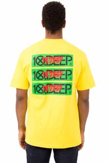 Triple Stack III T-Shirt - Yellow