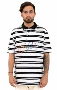 Wild & Peacefull Rugby Shirt - White