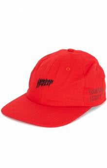 Yoga Flame Dad Hat - Red