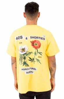 Agriculture T-Shirt - Yellow