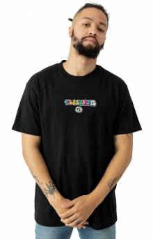 Bubble Logo T-Shirt - Black