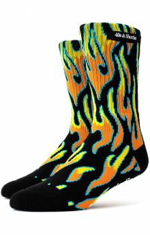 Fire Socks - Black