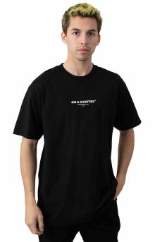 General Text Logo T-Shirt - Black