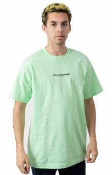 General Text Logo T-Shirt - Mint