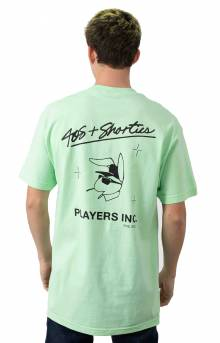 Players Inc. T-Shirt - Mint