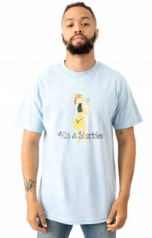 Selfie T-Shirt - Powder Blue