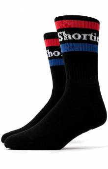 Text Logo Socks - Black