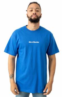 Text Logo T-Shirt - Royal Blue