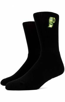 Wipe Down Socks - Black