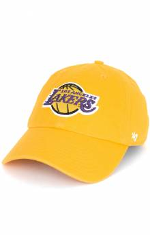 Lakers Clean Up Cap - Gold