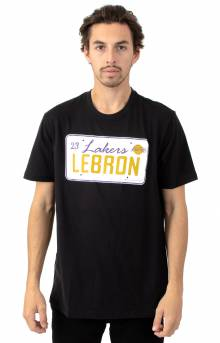 Lebron License Plate T-Shirt