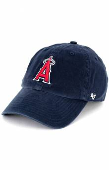 Los Angeles Angels Clean Up Cap - Navy