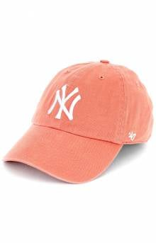 New York Yankees Clean Up Cap - Island Red