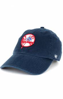 Yankees Clean Up Cap - Navy