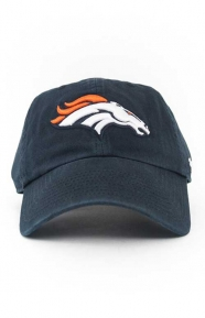 47 Clothing, Denver Broncos Clean Up Cap - Navy