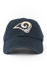 47 Clothing, LA Rams Clean Up Cap - Navy