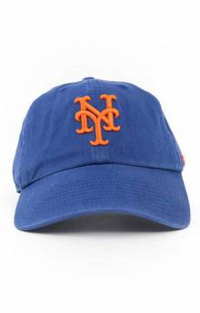 NY Mets Clean Up Cap - Royal Blue