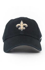 47 Clothing, Saints Clean Up Cap - Black