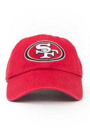47 Clothing, SF 49ers Clean Up Cap - Red