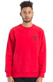 Above The Law Crewneck - Red