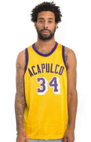Acapulco Gold Clothing, All Court Basketball Jersey - Gold