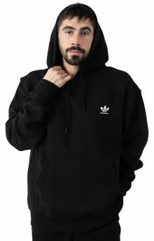 2.0 Logo Pullover Hoodie - Black/White