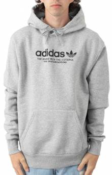 4.0 Logo Pullover Hoodie - Medium Grey Heather