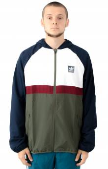 BB Packable Wind Jacket - Collegiate Navy/White