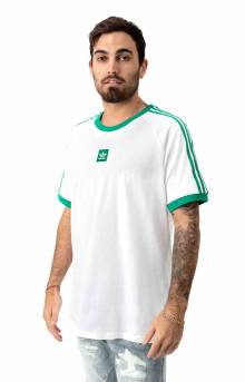 Cali 2.0 T-Shirt - White/Bold Green