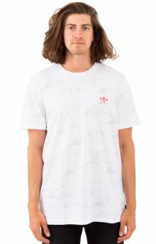 Clima Haven T-Shirt - White/Grey