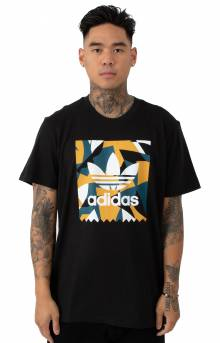 Collage BB T-Shirt - Black/Real Teal
