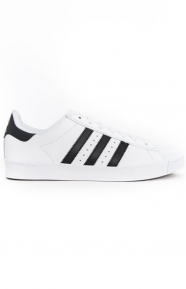 (D68718) Superstar Vulc Adv Shoe - White/Black/White