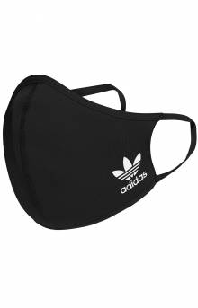 Face Covers 3 Pack - Black