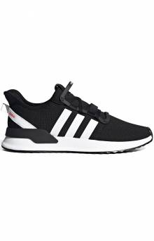 (G27639) U_Path Run Shoe - Black/White
