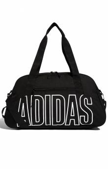 Graphic Duffel Bag - Black/White