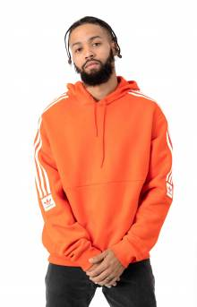 Adidas, Modular Pullover Hoodie - Active Orange/White