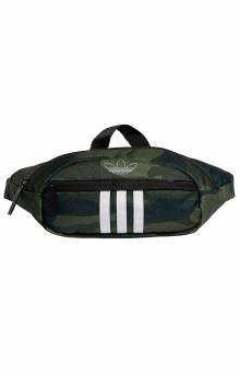 National 3 Stripes Waist Pack - Adidas Camo