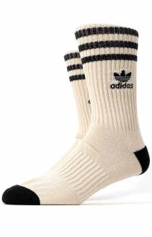 Originals Natural Roller Crew Socks - Natural Alumina Black