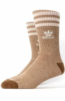 Originals Natural Roller Crew Socks - Natural Raw Desert