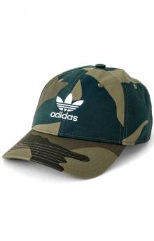 Originals Relaxed Strap-Back Hat - Camo/White