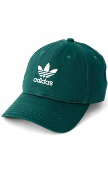 Originals Relaxed Strap-Back Hat - Noble Green/White
