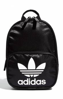 Originals Santiago Mini II Backpack - Black Satin/White